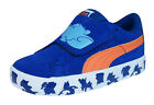 Puma S Vulc Tom and Jerry Kids Suede Trainers / Shoes - Blue