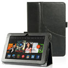 """For Amazon Kindle Fire HDX 7"""" PU Leather Folio Stand Cover Case Stand"""