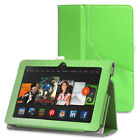 "For Amazon Kindle Fire HDX 7"" PU Leather Folio Stand Cover Case Stand"