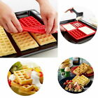 Pyramid Pan Non Stick Fat Reducing Silicone Cooking Mat Oven Baking Tray Sheet T