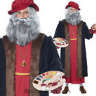 CA47 Leonardo Da Vinci Renaissance Painter Artitst Adult Fancy Dress Costume