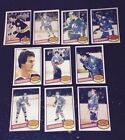 1980-81 OPC QUEBEC NORDIQUES Select from LIST NHL HOCKEY CARDS O-PEE-CHEE