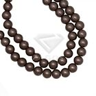 3/4/6/8/10/12/14mm 30 Colors Loose Beads Round Glass Pearl Fit Charms Braclet