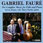 SIGNED Gabriel Faure': The Complete Music for Cello and Piano (CD, Aug-1993)