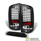 2007 2008 Dodge Ram 1500 2500 3500 Philips LED taillights+3rd Brake Cargo Lamps