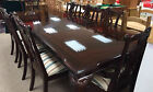 Renaissance Revival Mahogany Extending 12-Seater Dining Table & 8 Chair Set  R26