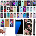For Samsung Galaxy S7 Edge G935 Cute Design TPU SILICONE Case Phone Cover + Pen