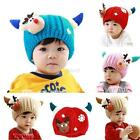 Toddler Baby Girls Unisex Winter Warm Hats Infant Kids Soft Knitted Caps Hat New