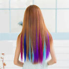 Long Charm Hair Extension 1pcs Synthetic Choose Colour 18inch Clip-in Womens