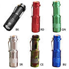 Mini Portable LED Torch LED Flashlight Adjustable Focus Zoom Flash Light Lamp
