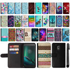 "For Motorola Moto G4 Play 5"" XT1607 XT1609 Design Wallet POUCH Case Cover + Pen"