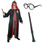 ADULTS WIZARD ROBE FANCY DRESS COSTUME WORLD BOOK DAY SCHOOL UNISEX MENS WOMENS