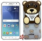 CUSTODIA COVER TPU ORSO TEDDY TOY per SAMSUNG GALAXY GRAND PRIME G530H + VETRO
