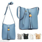 NEW Womens Shoulder Bag Tote Hobo Satchel Handbag Cross Body Faux Leather