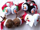 Premier Novelty Father Christmas Reindeer Snowman Santa Claus Penguin Ear muffs