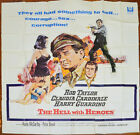 THE HELL WITH HEROES (1968) 6 Sheet Film Poster - Rod Taylor, Claudia Cardinale
