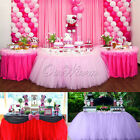 100x80CM TUTU Table Skirt Cloth For Wedding Party Birthday Baby Shower Decor HOT