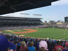 2 CHICAGO CUBS INDIANS WORLD SERIES GAME 4 TICKETS 10 29 WRIGLEY UNOBSTRUCTED
