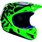 Fox Racing MX Off-Road V1 Race Helmet FLO Green Youth