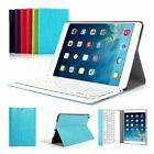 Tastiera per iPad air1/air 2 Bluetooth Rimovibile Con Pelle Custodia Italiana