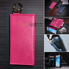 Luxury  Genuine Leather Flip Wallet Card Phone Case Cover for iPhone 7 / 7 Plus