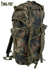 Army Combat Military Rucksack Flecktarn German Backpack Import Surplus 65L New