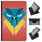Funky Fun Awesome Wise Old Owls Universal Folio Leather Case For Linx Tablets