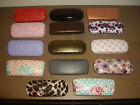HARD GLASSES CASES ~ GOOD VARIETY OF STYLES ~ SOME UNISEX