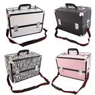 Внешний вид - New Large Portable Aluminum Beauty Cosmetic Makeup Jewelry Carry Case Salon Box