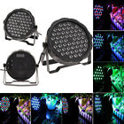 US Store Eyourlife 54 RGBW Quad LED DJ Par Light DMX512 Stage Effects