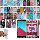 For LG G4 H815 F500 VS986 H810 Cute Design TPU SILICONE Case Phone Cover + Pen