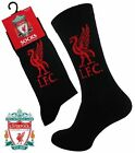 4 Mens LIVERPOOL Crest Badge FOOTBALL CLUB Soccer Team Socks UK 6-11