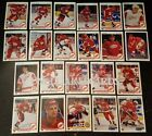 1990-91 UPPER DECK DETROIT RED WINGS Select from LIST NHL HOCKEY CARDS