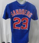 Chicago Cubs Baseball Sandberg Royal T-shirt Short Sleeve on Ebay