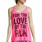 Xersion Graphic Tank Top Size L New Love Sizzling Pink