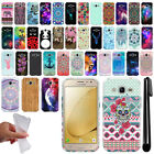 For Samsung Galaxy J2 2016 J210 2nd Gen Cute Design TPU SILICONE Case Cover +Pen