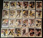 1990-91 UPPER DECK PITTSBURGH PENGUINS Select from LIST NHL HOCKEY CARDS $2.49 CAD on eBay
