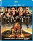 Pompeii 3D [Blu-ray 3D + Blu-ray Movie, Action Adventure, Region A, 2-Disc] NEW