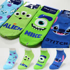Funny Monster Disney Character Socks Womens Girls Big Kids Cute Cartoon Socks