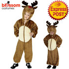 CK901 Child Reindeer Onesie  Funny Santa Xmas Novelty Christmas Costume Outfit