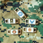 Support our Military with Military Bracelet Charms - Choose from 26 Options.