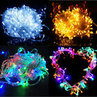 10m 33ft Wedding Party Bar Home Decor Outdoor 100LED String Fairy Light Lamp 12V