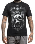 Sullen Clothing Jose Perez Jr Mens T Shirt Tee Black Skull Tattoo Goth