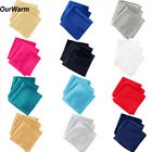 "10pcs Satin 12"" Napkin Dinner Pocket Handkerchief For Xmas Wedding Party Supply"