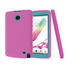 Defender Heavy Duty Rubber Shockproof Protective Hybrid Case Cover For LG G Pad