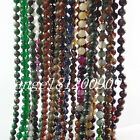 108 Tibet Buddhist 6mm Mixed Stone Beads Tassel Prayer Mala Necklace Bracelet L1