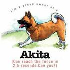 Akita Funny T Shirt 7 X Large to 14 X Large Pick Your Size