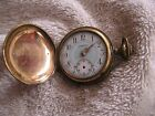 Vintage Malton Pocket Watch Fancy Dial