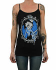 Women's Little Cutie by Adi Rockabilly Tattooed Betty Boop Camisole Tank Top Tee $26.95 USD