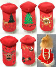 Внешний вид - Pet Dog Cute Clothes Puppy Shirt Winter Sweater XMAS Costume Jacket Coat Apparel